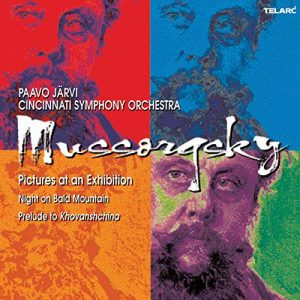 Mussorgsky album cover