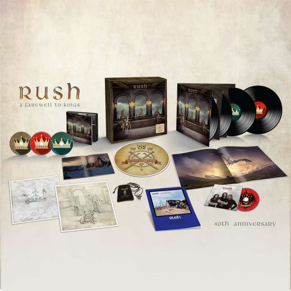 A Farewell To Kings 40th Anniversary Deluxe Edition by Rush - 5.1 Surround Sound (2)