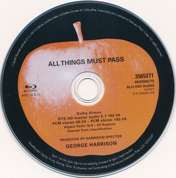 All Things Must Pass 50th Anniversary Super Deluxe Edition by George Harrison (4)